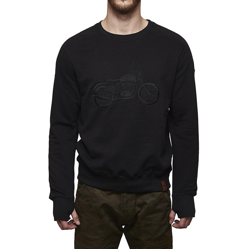 Classic Re Sweatshirt Charcoal - Royal Enfield