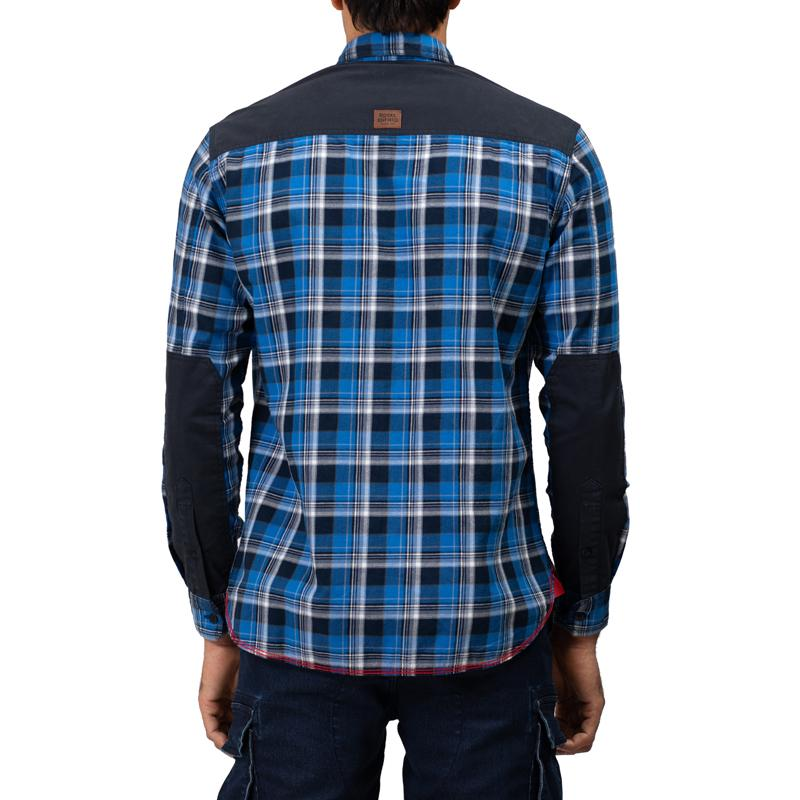 Hill Top Shirt Mid Blue