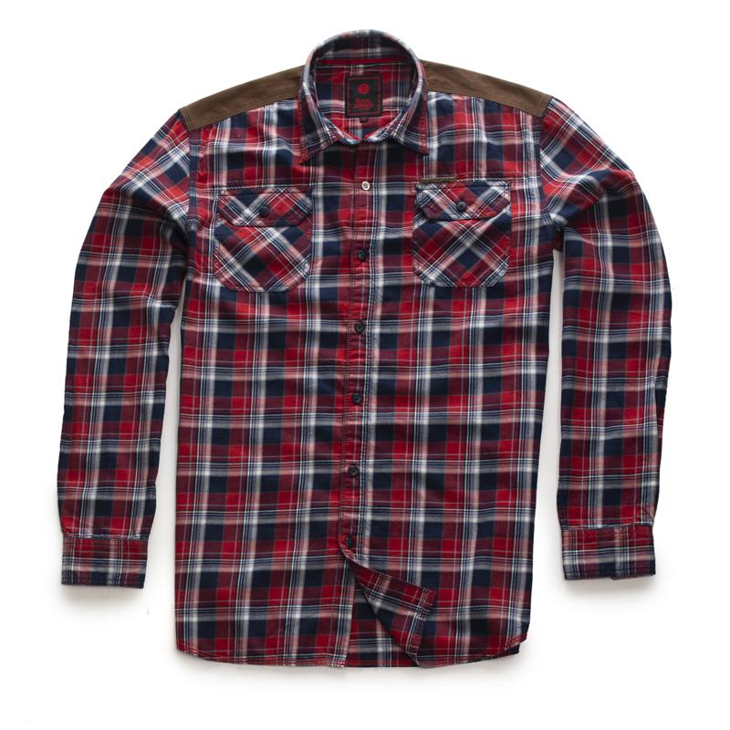 Hill Top Shirt Mid Red