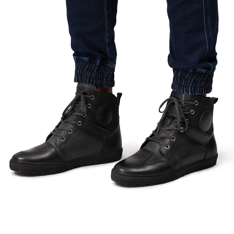 Jungle City Boots Black