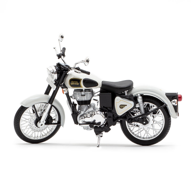 Royal Enfield classic 350 1:12 scale model Ash