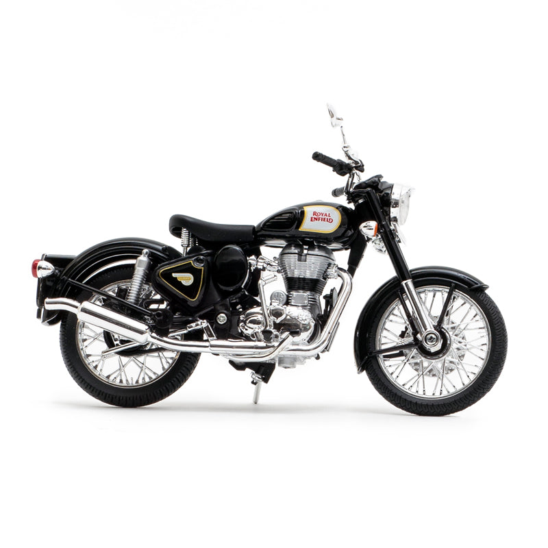 Royal Enfield classic 500 1:12 scale model Black