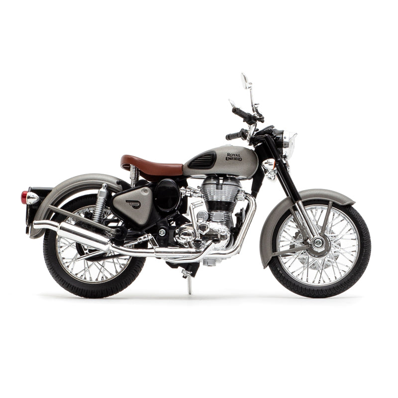 Royal Enfield classic 350 1:12 scale model Gun Grey
