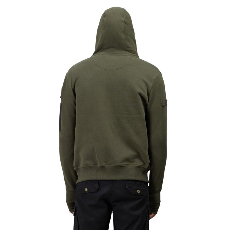 Classico Hoodie Sweat Olive