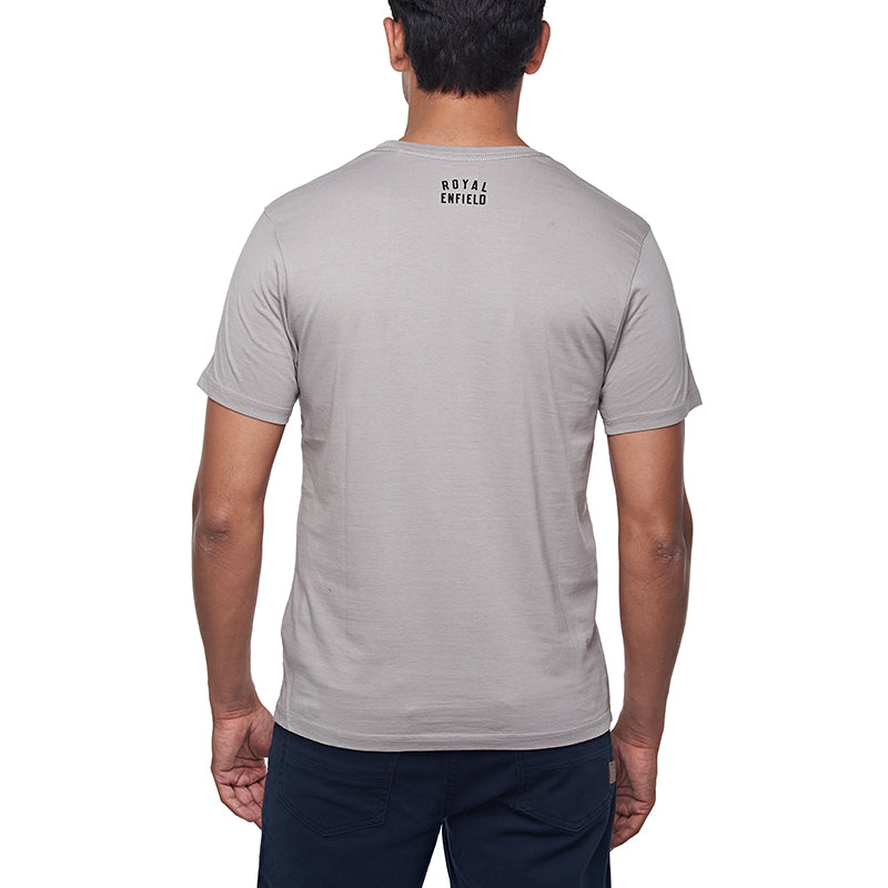 The Past T Crew Light Grey