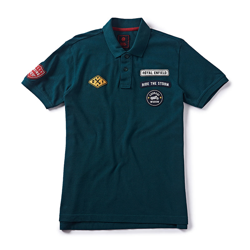 Rider Of The Storm Polo Dark Green