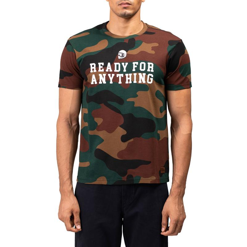 brand new a8411 53b58 Ready Camo T-Shirt Brown