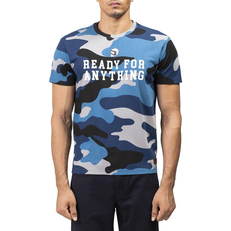 Ready Camo T-Shirt Mid Blue