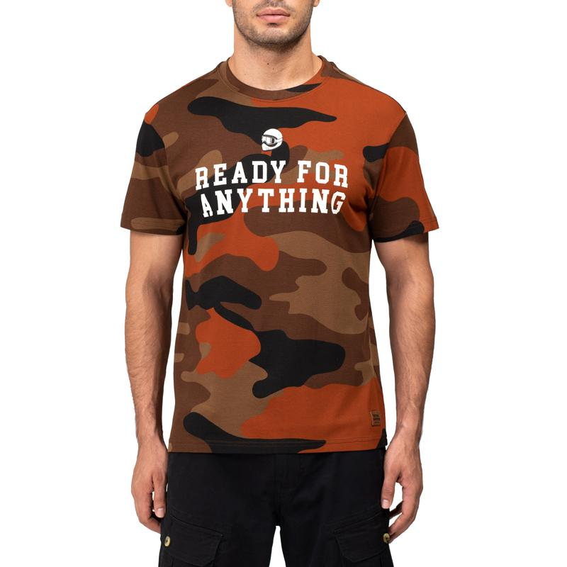 Ready Camo T-Shirt Rust