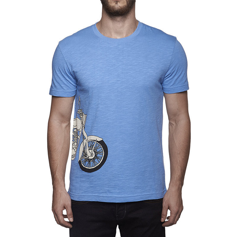Classic Re Entry T-Shirt Blue