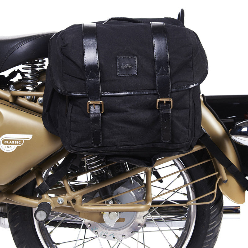 Long Rider Saddlebags Black