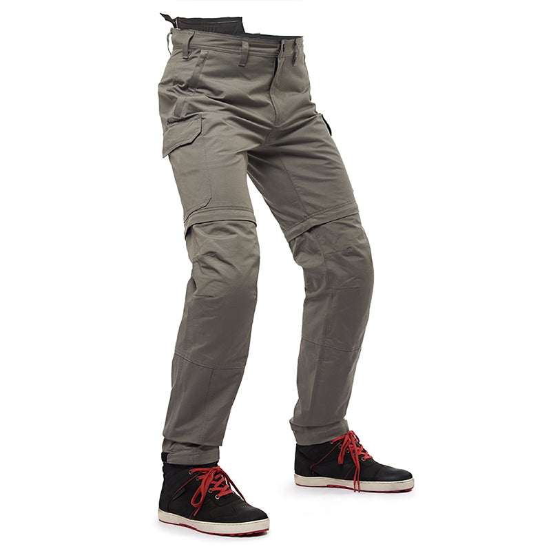 CONVERTIBLE RIDING TROUSER GREY