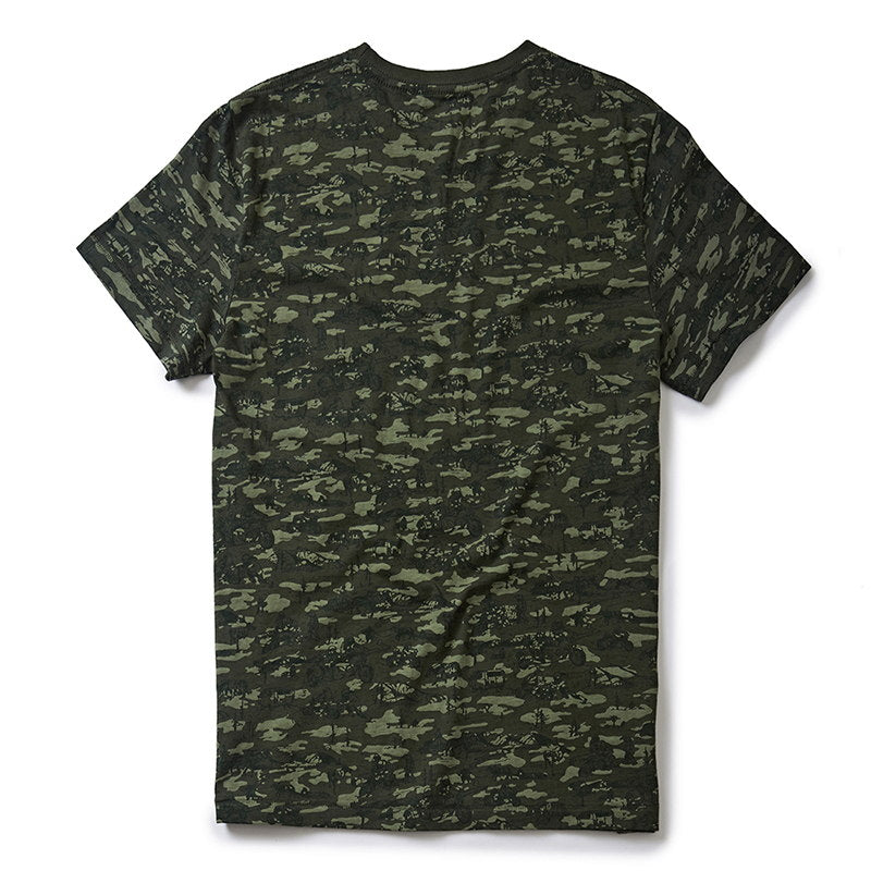 SIDECAR CAMO T-SHIRT Camo Olive