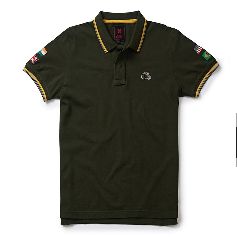 STANDARD POLO T-SHIRT - Olive Green
