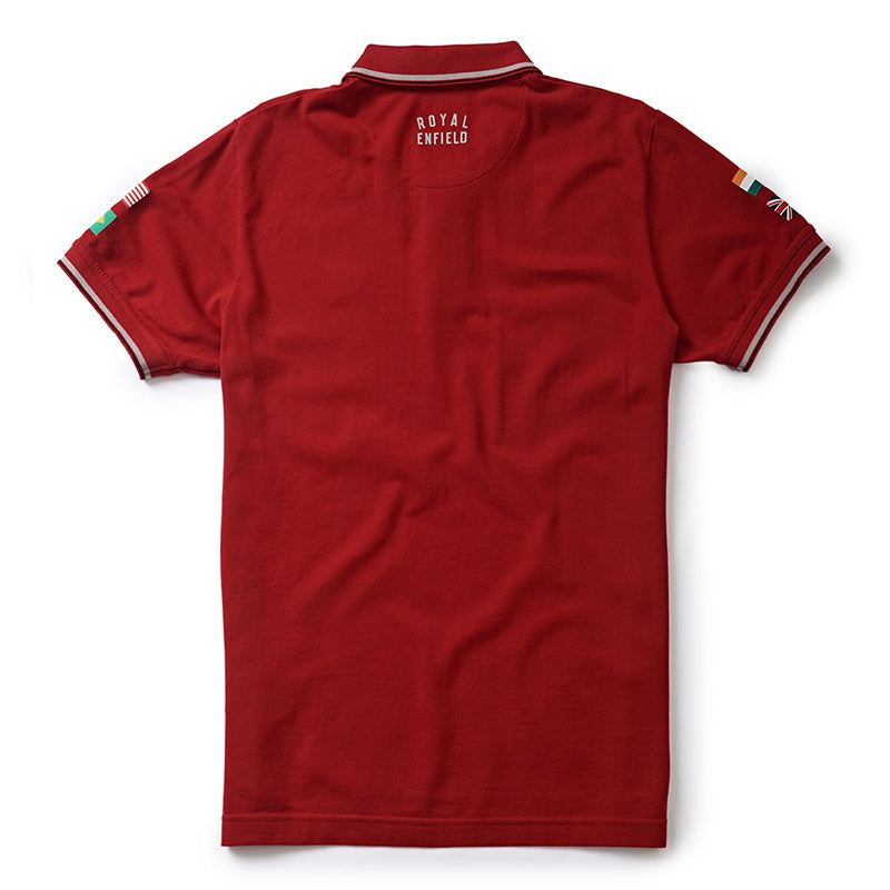 STANDARD POLO T-SHIRT -  Red