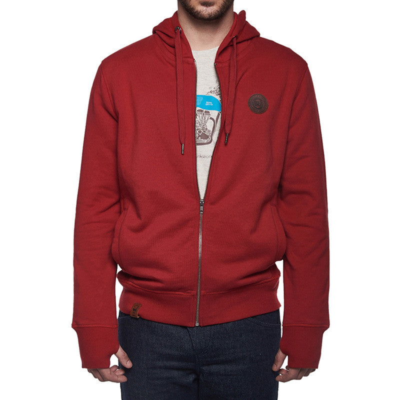 Gpg Sweatshirt Red - Royal Enfield