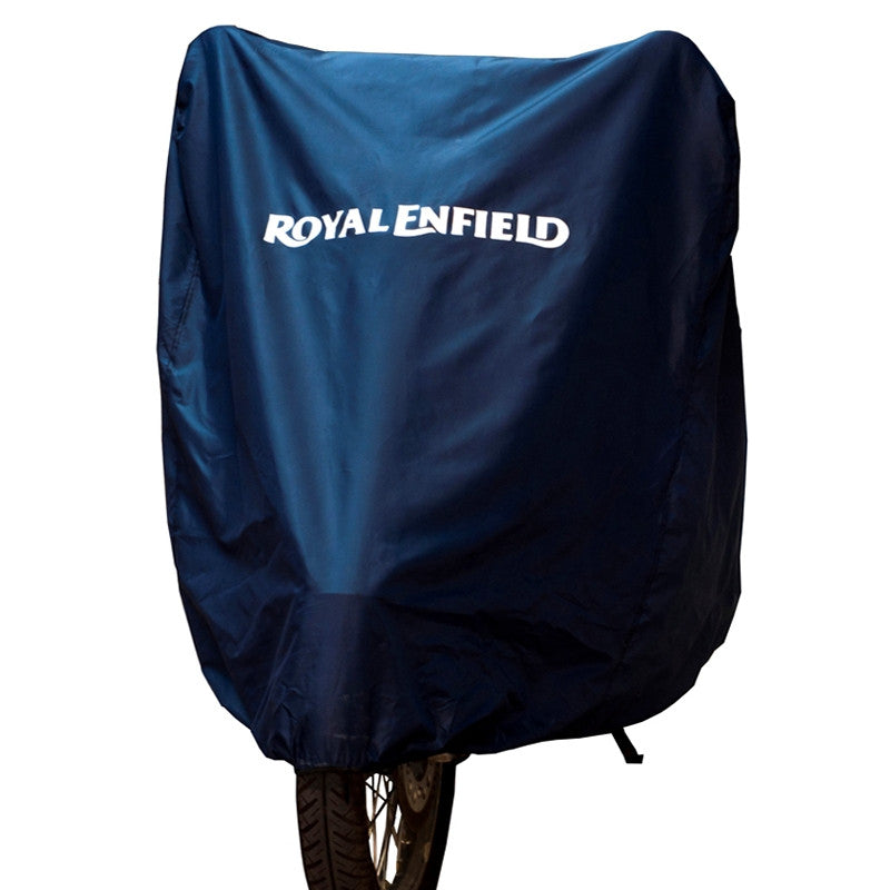 Classic Motorcycle Cover Blue - Royal Enfield