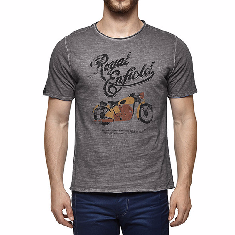 1940 Model G T-Shirt Grey - Royal Enfield