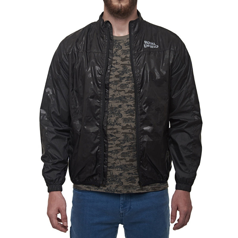 ALL TIME WINDCHEATER Camo Black