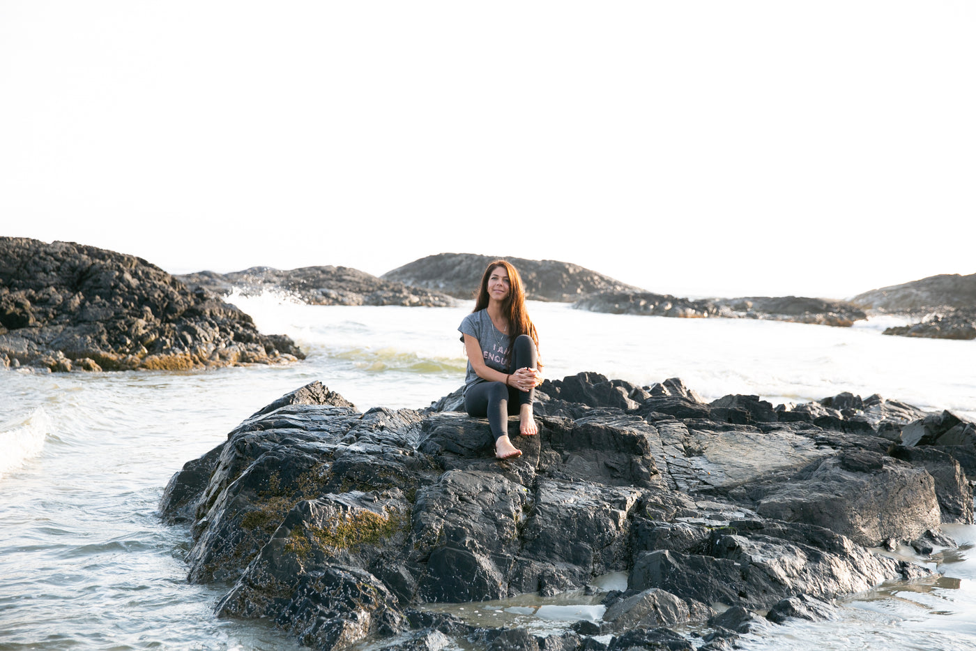 Connection; Human + Plants.  An Interview with Angela Marie L'Heureux from Tofino Soap Company.
