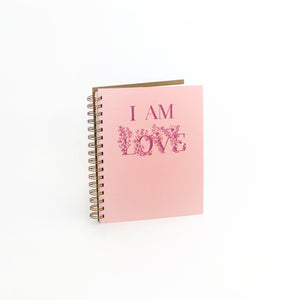 I Am Love Journal - Blush