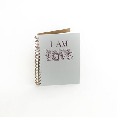 I Am Love Journal - Grey