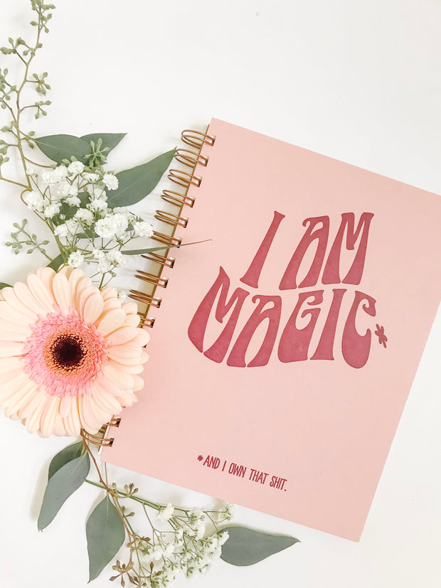 Magic Journal - Pink and Mauve