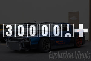 300,000+ Odometer Decal