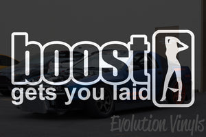 Boost gets you laid V1 Decal