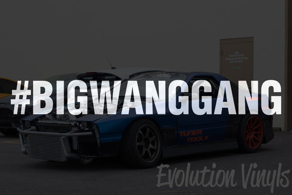 BIGWANGGANG Decal