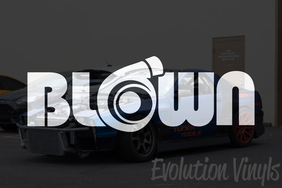 Blown V1 Decal