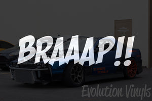 BRAAAP V1 Decal