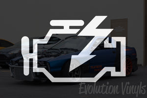 Check Engine Light V1 Decal