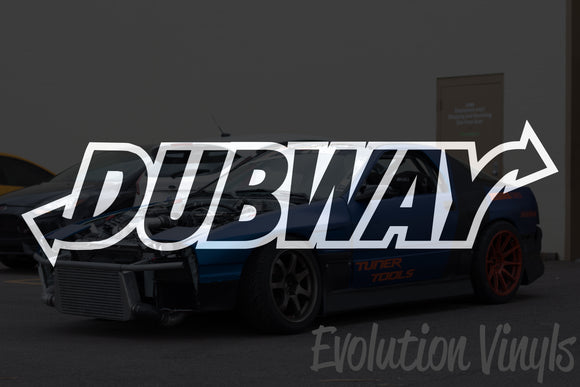 Dubway Decal