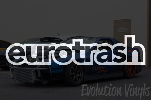 Eurotrash V1 Decal