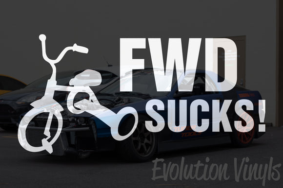 FWD Sucks V1 Decal