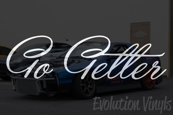 Go Getter V1 Decal
