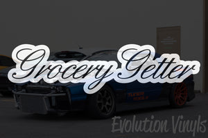 Grocery Getter V1 Decal