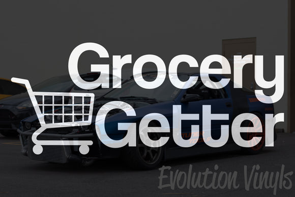 Grocery Getter V2 Decal