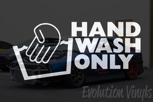 Hand Wash Only V1 Decal