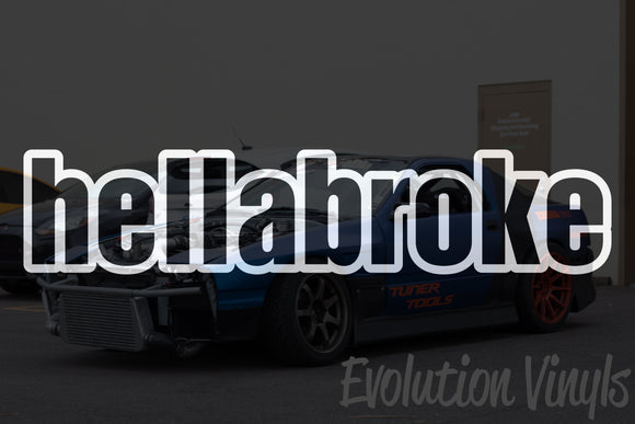 Hellabroke V1 Decal