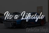 Its a Lifestyle V1 Decal