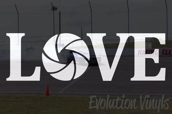 Love Photography V1 Decal