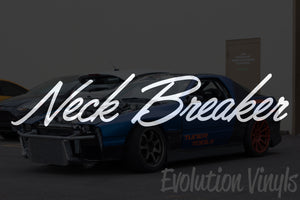 Neck Breaker V2 Decal