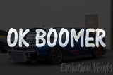 OK Boomer V2 Decal