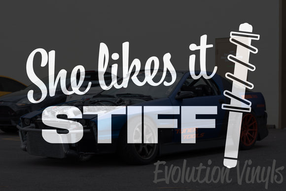 She Likes It Stiff V1 Decal