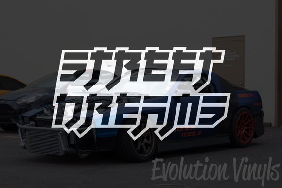 Street Dreams V1 Decal