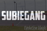 SUBIEGANG V1 Decal