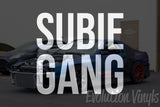SUBIEGANG V2 Decal