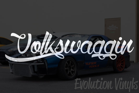 Volkswaggin V1 Decal
